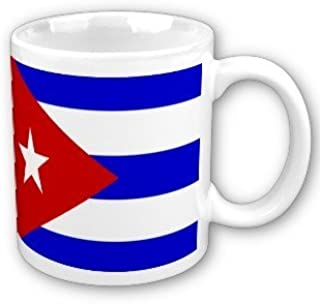 Amazon Com Cuba Flag Coffee Cup By Myheritagewear Kitchen Dining