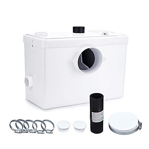 600W Trituratore Maceratore pompa WC Lavabo bidet vasca doccia 3 attacchi