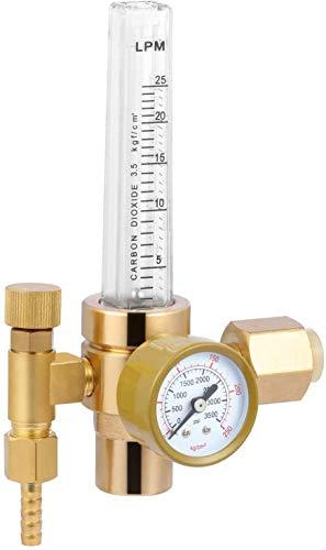CO2 Gas Regulator Flowmeter Mig Welding Gas Valves Full Copper Flowmeter Accessory For Mig Tig Welding Machine
