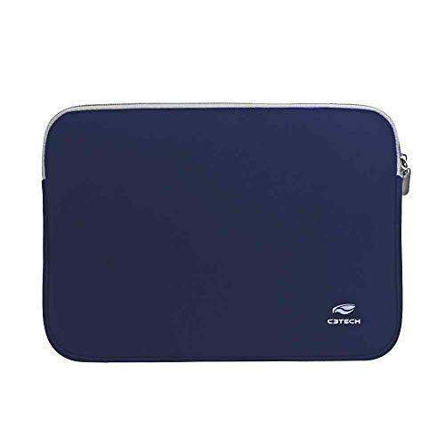 """Capa Sleeve para Notebook 15.6"""" Modelo SEATTLE SL-15BL AZUL C3 TECH"""