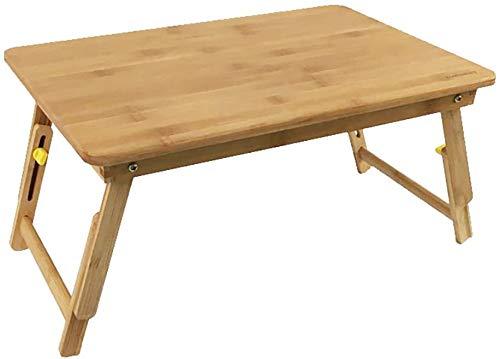 GOG Klapptisch, höhenverstellbar Bambus Laptop-Tisch Schrankbett Schreibtisch, Sofa, Tisch