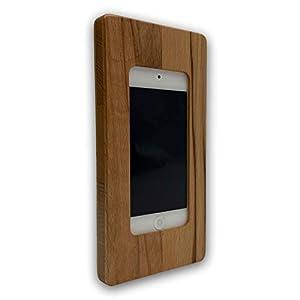 Apple iPod touch Gen. 5|6|7 NobleFrames Wandhalterung aus Kernbuche