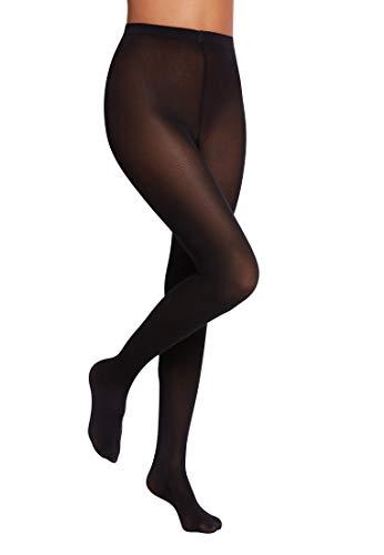 Wolford Damen Satin Opaque 50, Frauen Strumpfhose black, L
