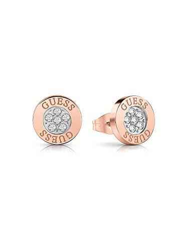 Guess Damen-Ohrstecker Edelstahl Kristall One Size Rosé 32003481