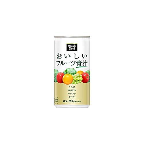 ミニッツメイド おいしいフルーツ青汁 190g×60本 缶