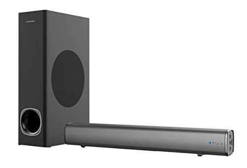 Blaupunkt blp9810–Barra del suono E subwoofer per TV con Bluetooth (80W) Colore nero
