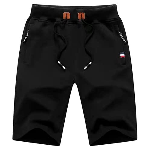 N\P Casual Shorts Men's Casual Sports Pants Black