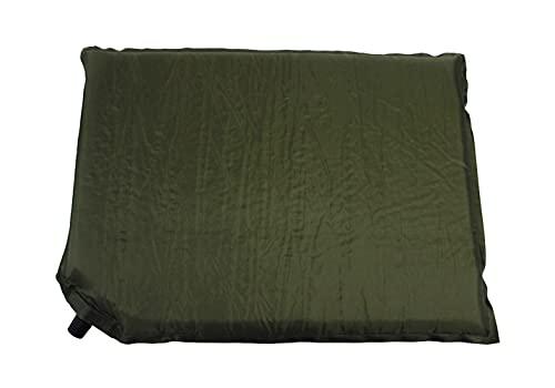 Thermokissen Sitzkissen Militär Oliv Grün selbstaufblasend wetterfest Nässe Kälte Hitze Schutz Kissen
