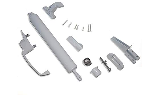 Kiavetta Storm Door   Screen Door   Push Button with Latch and Closer Kit (White)   Complete Kit to Replace Your Screen and Storm Door Hardware