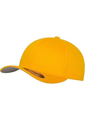 Flexfit Blanko Baseball Cap (Youth, gold)