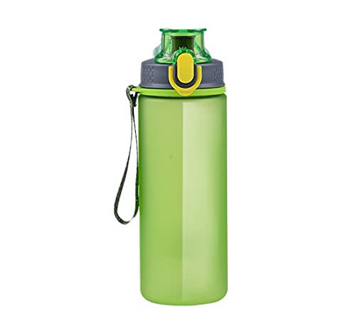 Botella Deportes botella 1l, soklit auslaufsichere elegante botella de agua Water Eco Friendly & sin BPA Plástico mejor Deportes botella Escuela de deportes para viajes y tiempo libre.