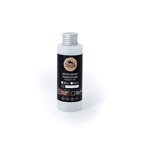 SOFOLK Pittura per Pelle/Similpelle/Ecopelle/vinyle : Auto, Volante, Divano, Poltrona, Scarpe, Giacche (Blanco, 125ML)