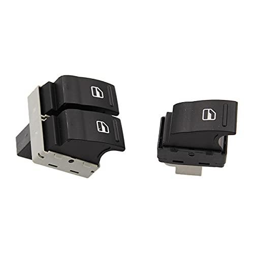 Botón de interruptor de control de ventana eléctrica apto para VW Transporter T5 T6 2005-2014 7E0959855A 7E0959855-7E0959855A_7E0959855