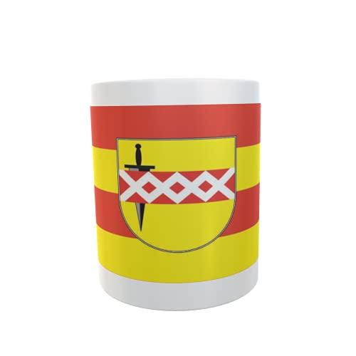 U24 Tasse Kaffeebecher Mug Cup Flagge Bornheim