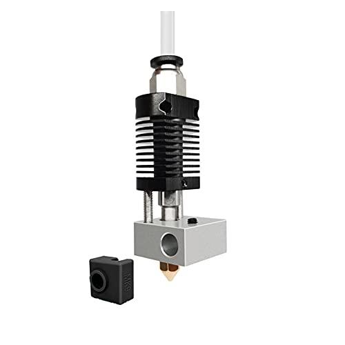 Huhu 3D Printer Parts Brass Fit For Anet ET4 24V Hotend Extruder Kit Fit For Ender 3 Ender 3 Pro Micro Swiss 1.75mm Filament (Color : Black)