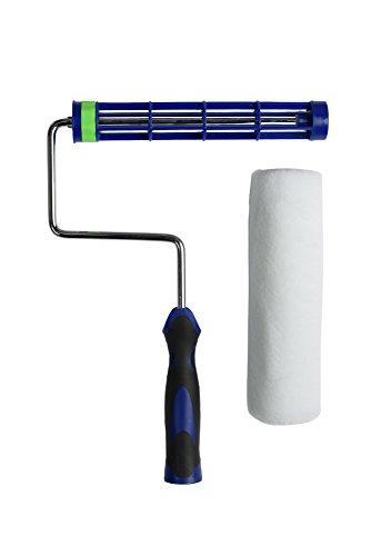 PD - Set di rulli autobloccanti per vernice e rullo, con impugnatura morbida resistente anti-fatica (22,9 cm)