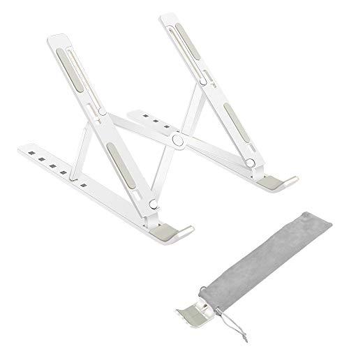 WEYO Laptop Ständer, Tragbar Aluminium Notebook Stand, Ergonomischer Laptop Halterung für alle 11