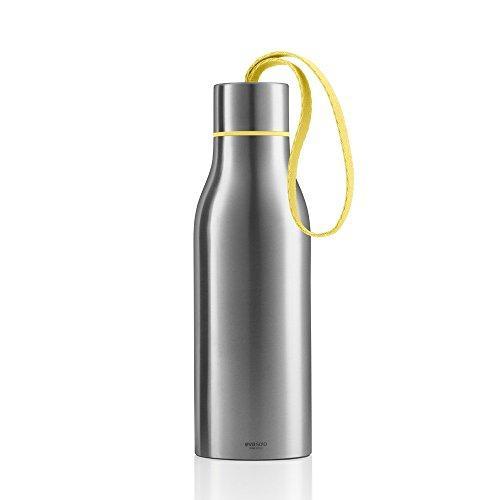 EVA SOLO Thermosflasche 0,5 L, Edelstahl, Limonadengelb, 7 x 7 x 23 cm