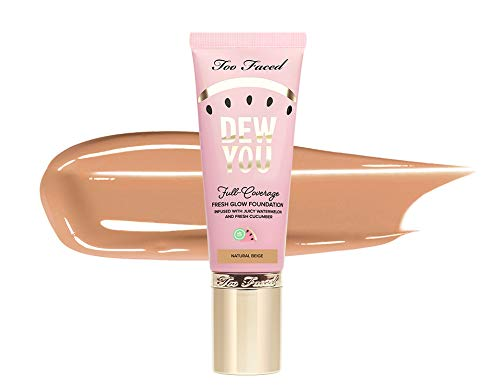 TOO FACED Dew You Glow Full Coverage Foundation - Natural Beige - Full Size