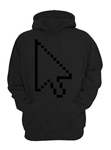 ShutUp Computer Mouse Sweatshirt met capuchon Unisex