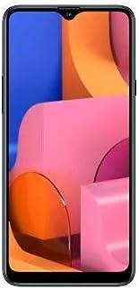 "Samsung Galaxy A20s (32GB 2GB RAM) 6.5"" HD+ Triple Camera SM-A207F/DS 4G LTE (AT&T Europe Asia Africa Cuba Digitel) Dual SIM GSM Factory Unlocked - International Version - No Warranty (Green)"