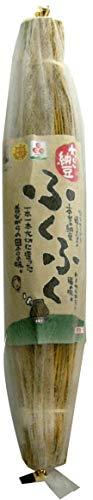伝統製法を復活・天然わら納豆 「ふくふく」300g 1本(6〜8人分)★国産無農薬大豆★クール冷蔵★少量生産のため数量に限りがあります。