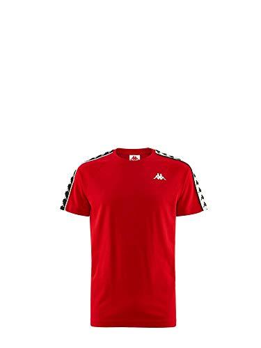 Kappa T-Shirt Kid 303UV10-19-KID 100x100 Cotone 4anni, A56-Red-Black-White