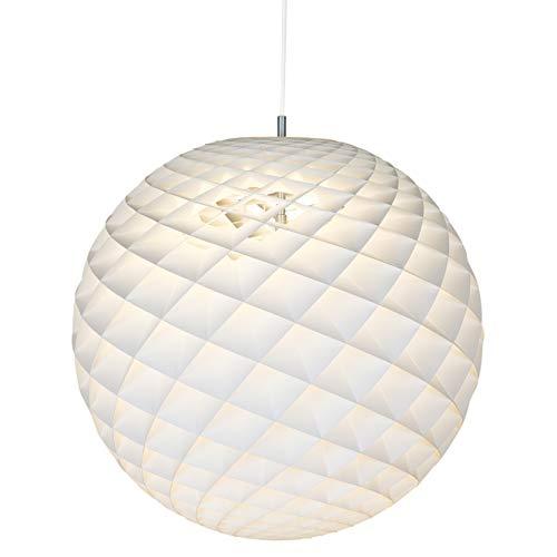 Patera ⌀ 600, max. 100W, E27, Louis Poulsen, Pendelleuchte Entworfen von Øivind Slaatto (Weiß, ⌀ 600)