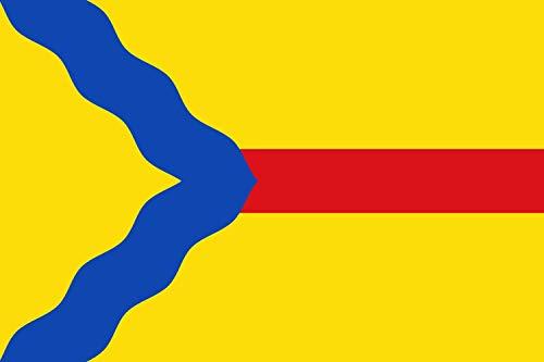 magFlags Drapeau Large Asín | Municipal de Asín - Zaragoza - España | Drapeau Paysage | 1.35m² | 90x150cm