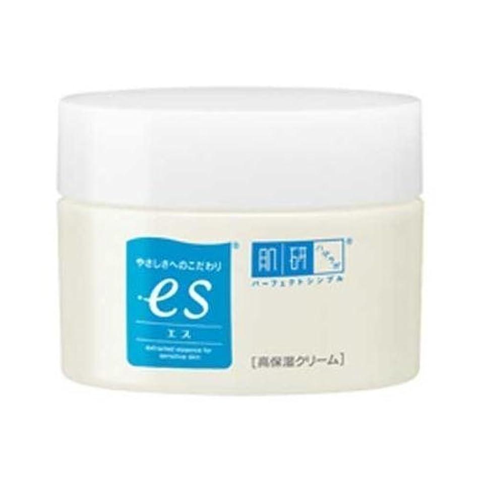 野心海洋観察肌ラボ es(エス) ナノ化ミネラルヒアルロン酸配合 無添加処方 高保湿クリーム 50g