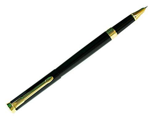 DRYDEN Füllhalter Füllfederhalter Füller mit feiner Feder von Dryden - SCHWARZ - Hohe Präzision -Füllfederhalter-Set für Führungskräfte - Tintenkonverter