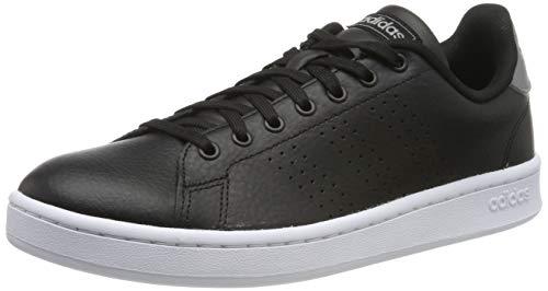 adidas Advantage, Zapatillas de Tenis para Hombre, Negro  (Negbás/Negbás/Gritre 000), 44 EU