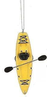 Midwest Seasons 2017 Kayak Ornament (Yellow)