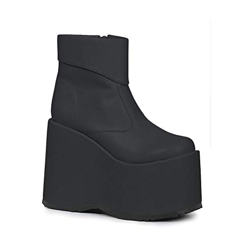 Ellie Shoes Men's Platform Ankle Boot M BLKP