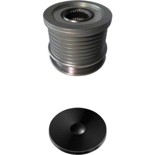 HELLA 9XU 358 038-851 Generatorfreilauf - M16x1,5 - Anzahl der Rillen: 7 - mit Kappe