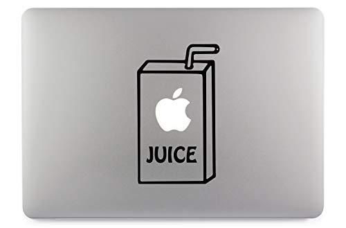 Apple Juice Apple Juice Apple Juice Sticker Calcomanía de Piel Vinilo Apto para computadoras portátiles Apple MacBook Air Pro Computadoras portátiles Apple, automóvil, Superficies Lisas (13')
