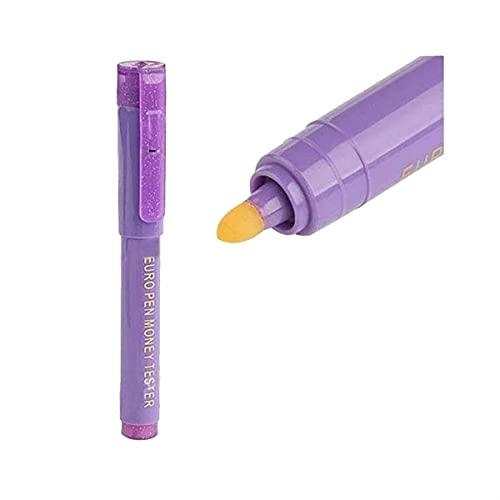 Caneta Detectora de Nota Falsa Com Luz Ultra Violeta MYC-02