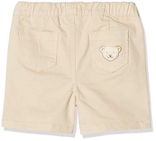 Steiff Baby-Jungen Shorts, Beige (Bleached Sand 1006), Gr. 62