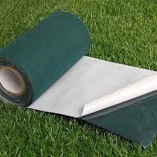 Lucatex - Cinta de unión adhesiva césped artificial 15cm x 5 metros largo - cinta adhesiva césped artificial - fácil instalación de césped artificial