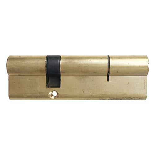 Bombin Cerradura Núcleo de Bloqueo de Cobre de la Puerta antirrobo 95/100, Adecuado para Dormitorio en Interiores con 7 Llaves de Cobre de Mango de plástico Accesorios de Bloqueo 5