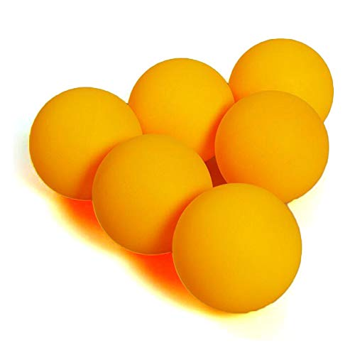 Gmefvr Table Tennis Ball Pack of 6 in one Box Yellow or White   konex or Shied rendom Model (1)