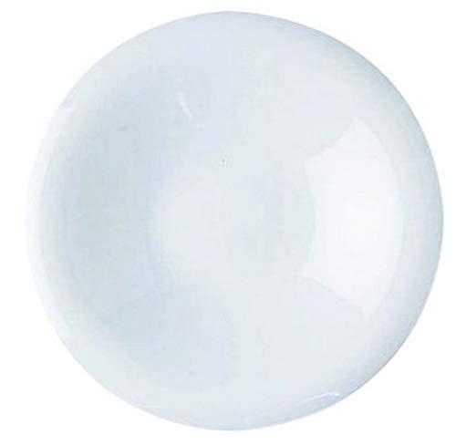 Alessi Gv13/88 Pluto Soucoupe Pour Tasse à Café-filtre en Porcelaine Blanche, Set de 6 Pièces