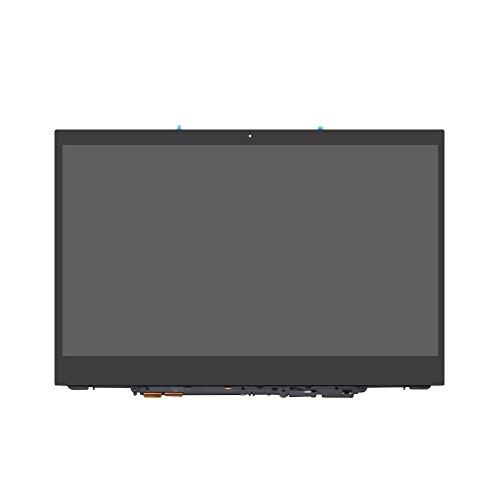 FTDLCD® 12.5 Inch FHD LCD Pantanlla Táctil Digitalizador Asamblea con Marco Repuesto de Computadora para Lenovo Yoga 720-12IKB 81B5 1080P