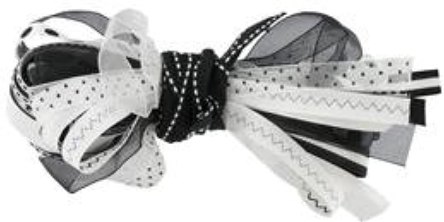 Ribbon Scrap Pack Assortments - 36 Feet - Black/white ilcehw325969461