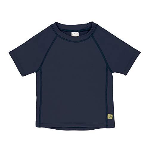 LÄSSIG Baby Kinder Schwimmshirt Badeshirt Kurzarm UV-Schutz/Splash & Fun Short Sleeve Rashguard navy, 06 Monate