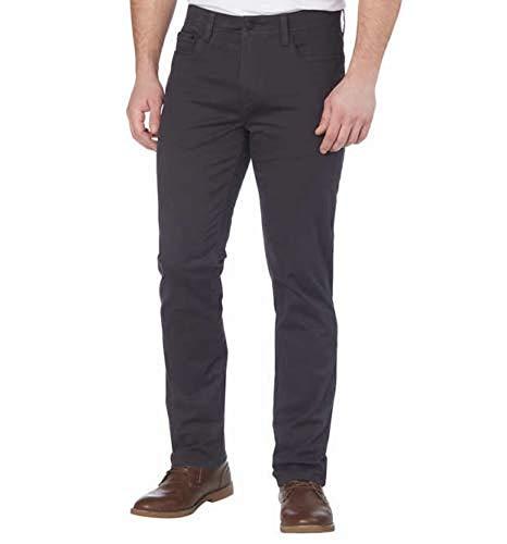 English Laundry Men's 5-Pocket Straight Leg Pant (32x30, Forged Iron)