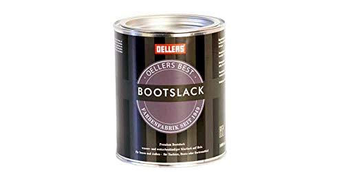 OELLERS Bootslack | 1 Liter | farblos | seidenglänzend | Yachtlack | Schiffslack | Möbellack | Treppenlack | Holzlack (1 Liter, farblos)