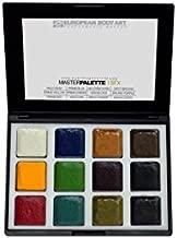 European Body Art EBA Encore Alcohol Activated SFX Makeup Palette - Waterproof, Durable Professional Makeup - Master Palette - SFX
