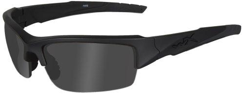 Wiley X Schutzbrille WX Valor Im Set mit 2 Gläsern, Matt Schwarz, S/L, CHVAL07