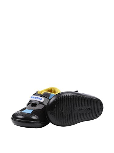 Skidders Infant Skidproof Sneaker Casual Sport Black/Blue Shoes Sz 4 (12 Months)